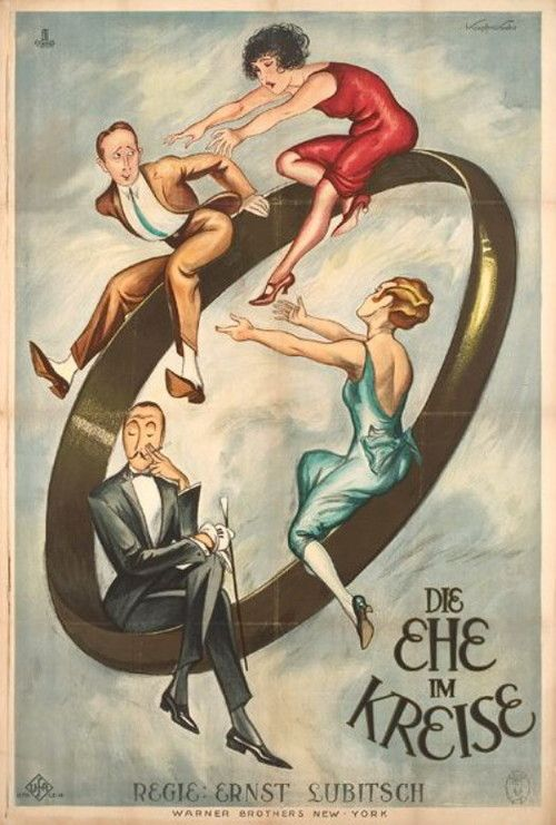 The Marriage Circle, 1924 by Ernst Lubitsch