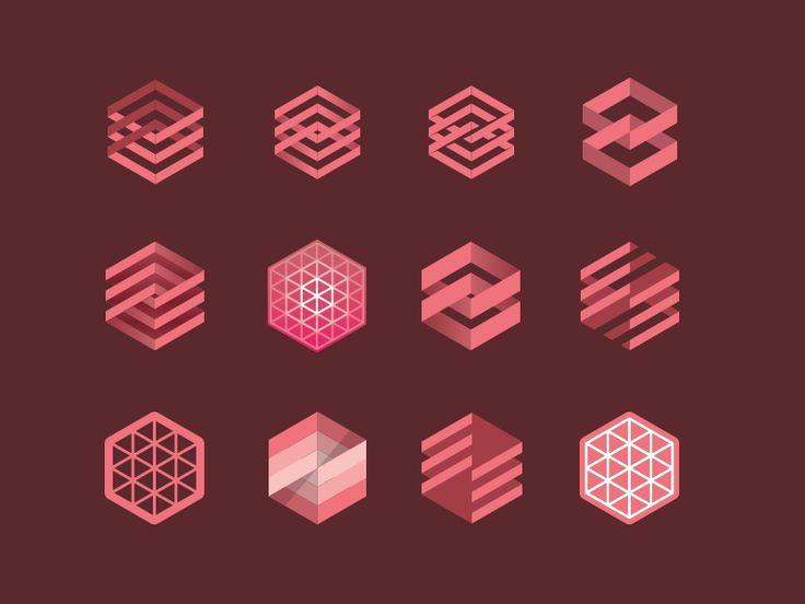 Hexagons by Damian Kidd