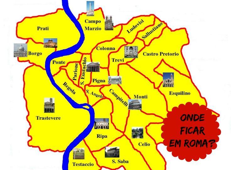 Uma das maiores dúvidas de quem vai conhecer a Cidade Eterna é saber onde ficar em Roma. Este guia de hospedagem vai ajudá-lo na escolha.