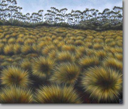 KAREN STANDKE, Tasmanian landscape IV