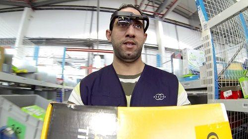 On parlait il ya quelques mois de la réalité augmentée dans les entrepôts logistiques (supply chain). Plus de lecteur codes barres à la main des Gloogle glass en lieu et place... Qu'en est-il  en 2015 ?
