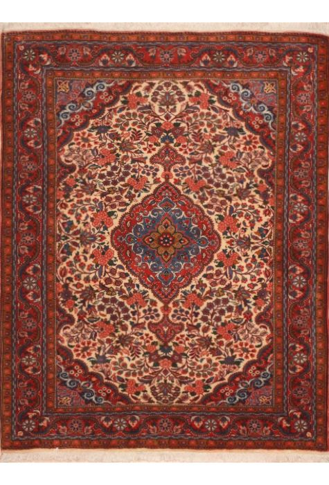 Jouzan Persian rug. Wool. Hand Knotted. 112 x 140 http://www.rugman.com/persian-jouzan-design-oriental-area-rug-small-size-wool-red-rectangle-100-11381