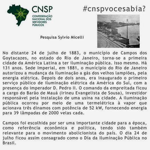#CNSPNotícias - Você sabia? - 24 de julho de 2014 - #CNSPvocesabia