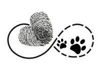 Tatuaje Del Símbolo De Las Impresiones Del Corazón Y De La Pata Del Perro - Descarga De Over 64 Millones de fotos de alta calidad e imágenes Vectores. Inscríbete GRATIS hoy. Imagen: 76099279