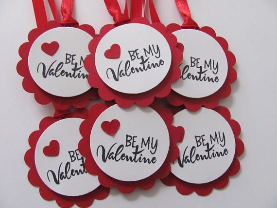 Be My Valentine Tags Happy Valentine S Day Valentine Etsy Valentines Gift Tags Valentine Tags Valentines Day Cards Handmade
