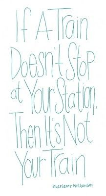 It's not your train