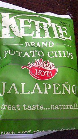 世界のお菓子in片田舎 ハラペーニョポテトチップス:ケトルチップス / Jalapeno Potato Chips : KETTLE
