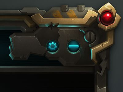 Game UI of Wildstar GIF