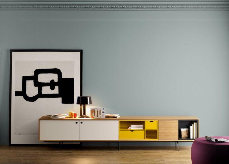 TREKU - Produits - Salon & Salle à manger - Meubles TV - Aura Collection
