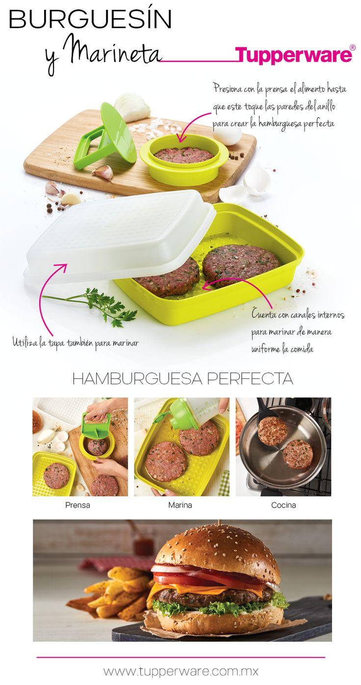 Crea hamburguesas perfectas con Burguesín y Marineta.