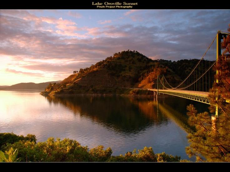 Beautiful Lake Oroville, Ca