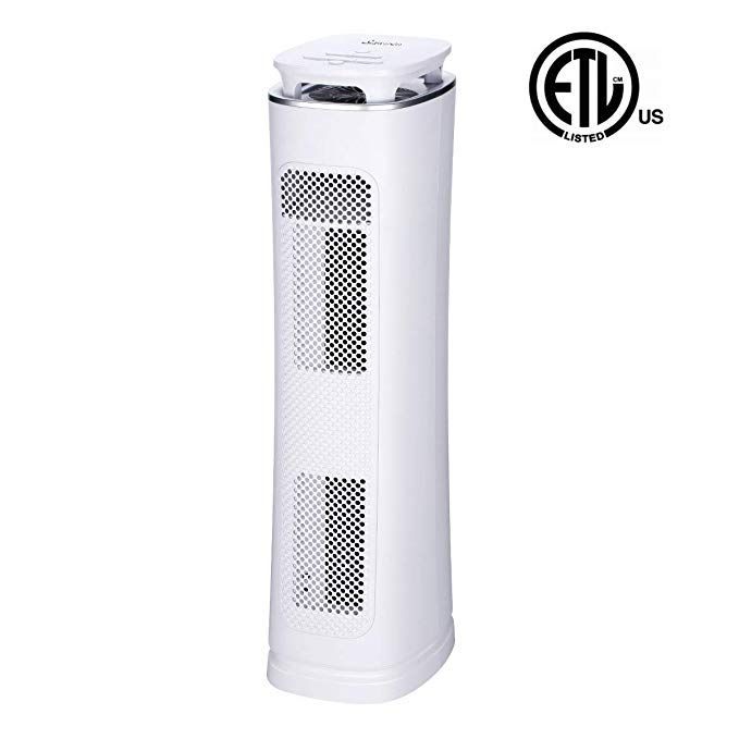 Sancusto Air Purifier 3 In 1 True Hepa Filter Air Cleaner With Card Rated 230 3 Stages Filtration With Mosquito Trap Uv Light Air Purifier Hepa Filter Hepa