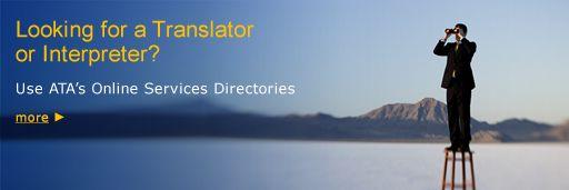 ATA - American Translators Association