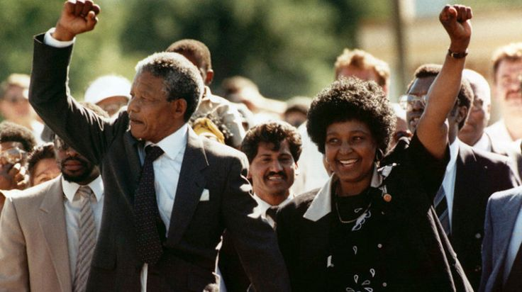 Nelson Mandela walks free from prison on February 11, 1990, having spent 27 years behind bars. Many feared his release and the end of apartheid would spark a civil war in South Africa, however Mandela became a symbol of peace of reconciliation, and is now known as the father of a modern and peaceful South Africa.