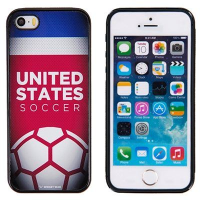 US Soccer iPhone 5/5S Thick Soccer Case