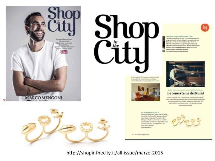 MIA's on ShopInTheCity TORINO MIA Ring Gold — felice.