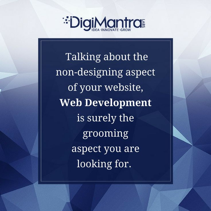 In #WebDevelopment- the targetted facets mainly being writing markup, server side or client side scripting, coding, network security configuration and others. #TuesdayWisdom
