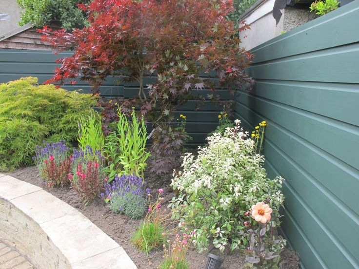 Colourful planted raised bed design ideas for raised for Garden designs ie