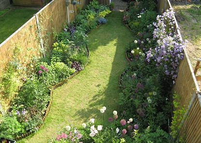 138 best images about long thin pretty garden on pinterest for Garden design ideas victorian terrace