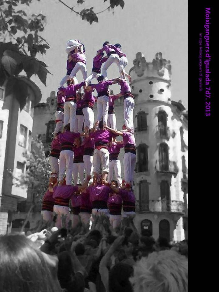 16-Moixiganguers d'Igualada. Igualada, Catalonia.