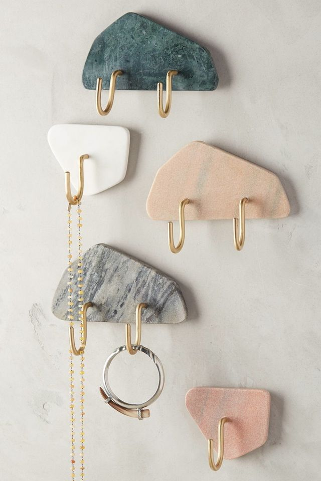 Turn granite scraps into key hooks?                                                                                                                                                     More