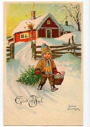 Vintage christmas - Jenny Nyström More