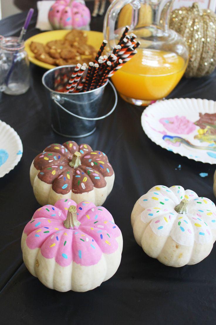 Small Pumpkin Painting The 25 Best Pumpkin Painting Party Ideas On Pinterest Pumpkin