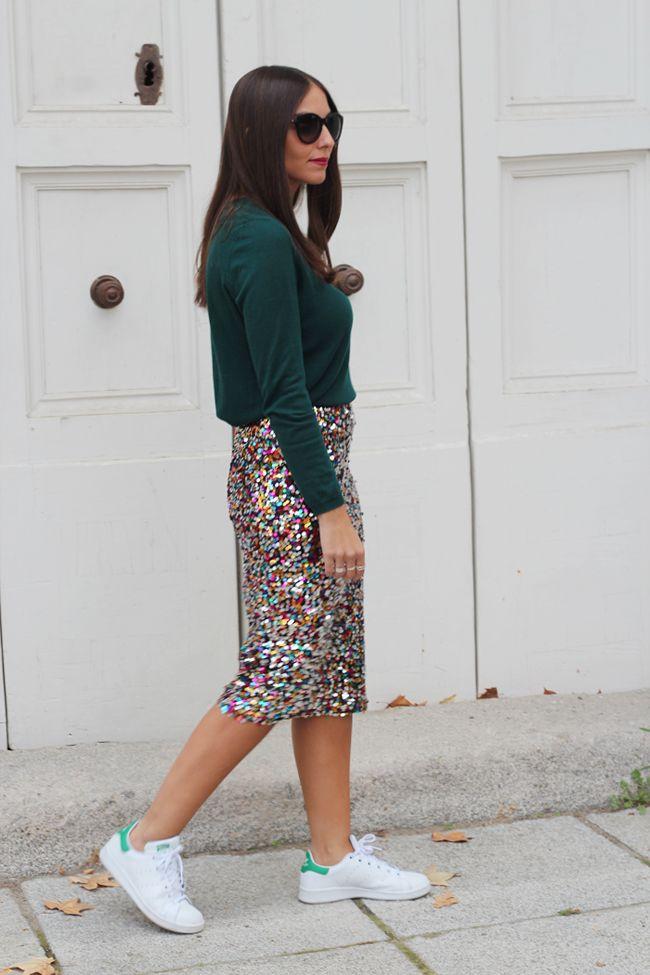 Las zapatillas con looks de vestir se ha impuesto como el look más cómodo y cool de la temporada