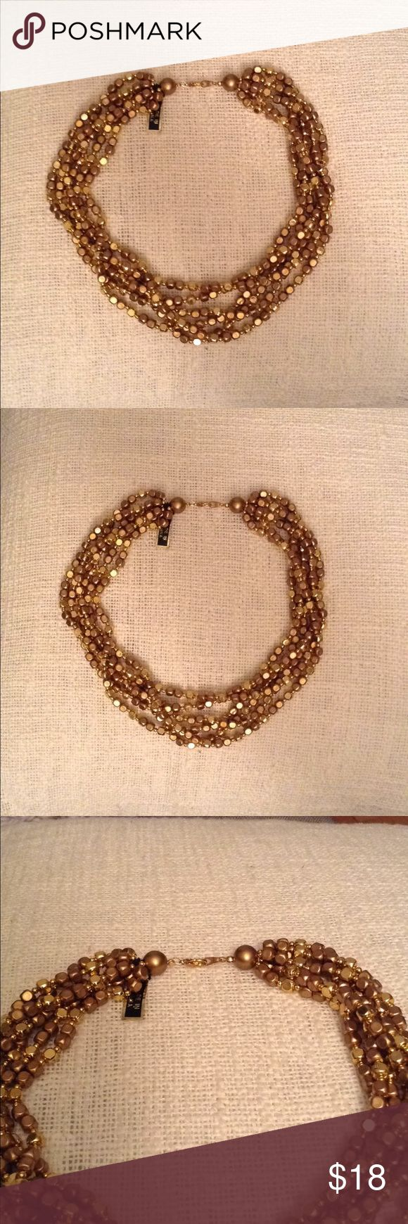 ✨Chunky Gold Necklace✨ New chunky gold necklace. Lord & Taylor Jewelry Necklaces #GoldJewelleryChunky
