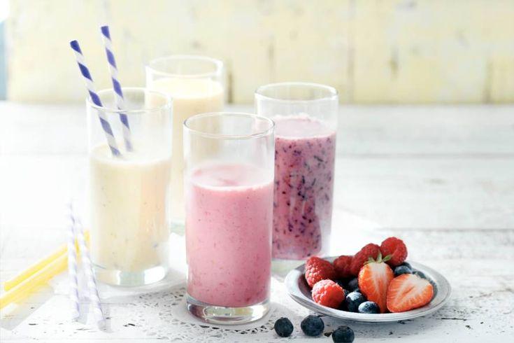 Kijk wat een lekker recept ik heb gevonden op Allerhande! Milkshake rood fruit