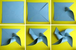 Paciuga, Brega e Imbelina: Come fare le girandole di carta