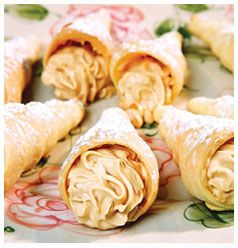 Pastry Cones with Crème Pâtissière | Huletts Sugar