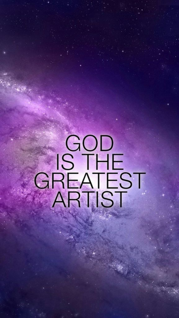 God Is The Greatest Artist