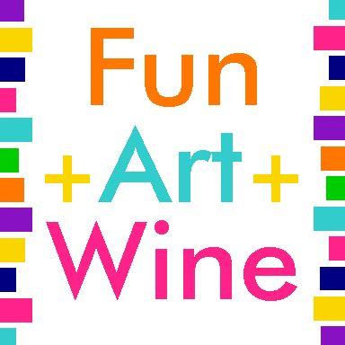 Fun+Art+Wine Logo