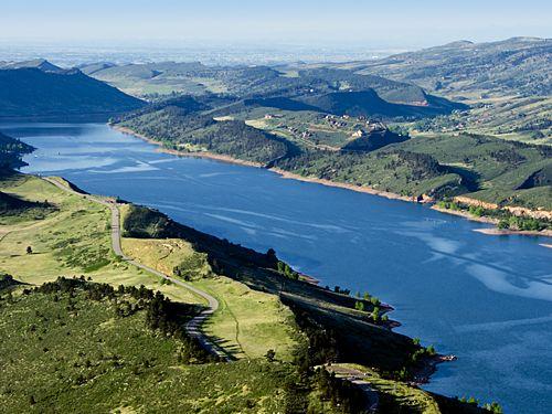 Fort Collins - Hiking and mountain biking around Horsetooth Reservoir
