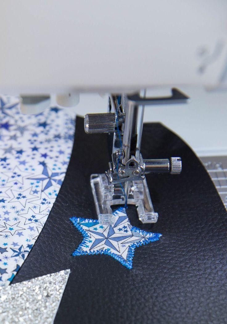 Coudre des appliqués en coton ou en simili cuir sur vos créations couture – #a…