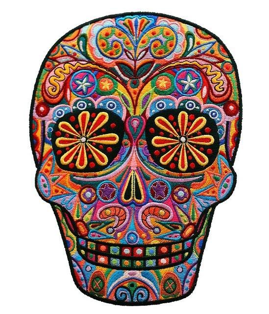 181 best images about Sugar Skulls on Pinterest | Skull art ...
