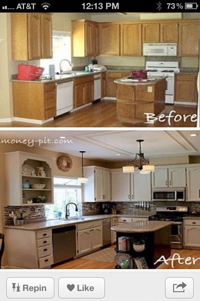 Kitchen need to paint my cabinets for the home for Kitchen design 43055
