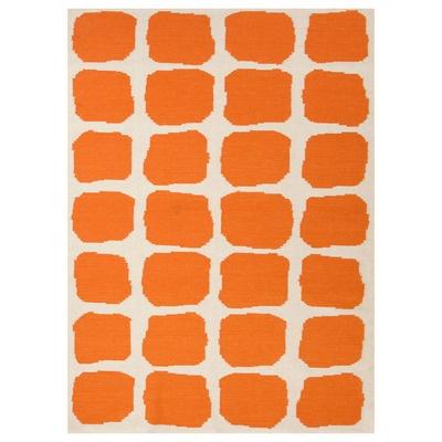 Jaipur Maroc Sabra White/Orange Flat Weave Rug by Zinc Door $58