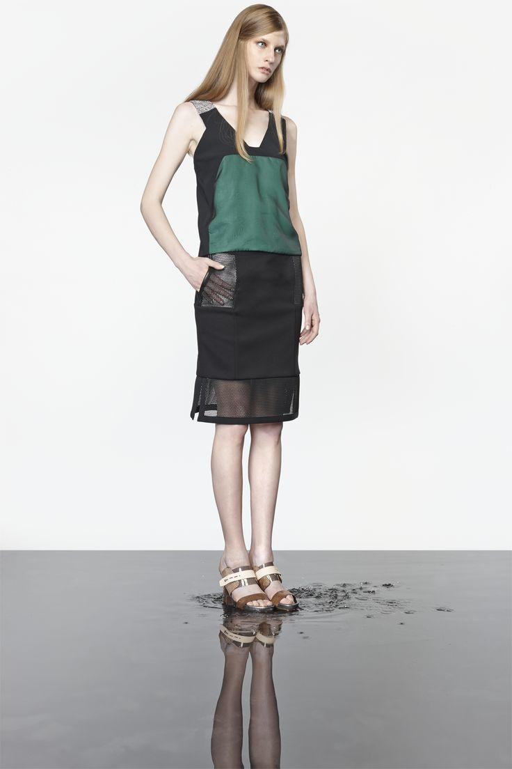 NUBU ABDUR top / NUBU DOLTER skirt