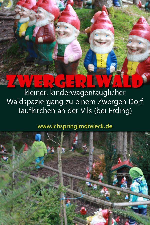 Zwergerlwald – kleiner, kinderwagentauglicher Waldspaziergang – Ich spring im Dreieck – Familienportal – zwischen München und Wasserburg, Erding und Rosenheim