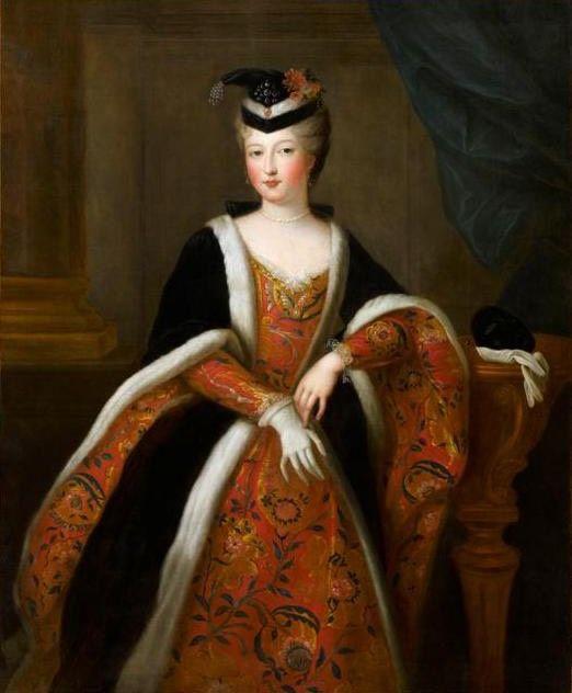 Élisabeth-Alexandrine de Bourbon, Mademoiselle de Sens by Gobert studio (Châteaux de Versailles et de Trianon - Versailles, Île-de-France, France):