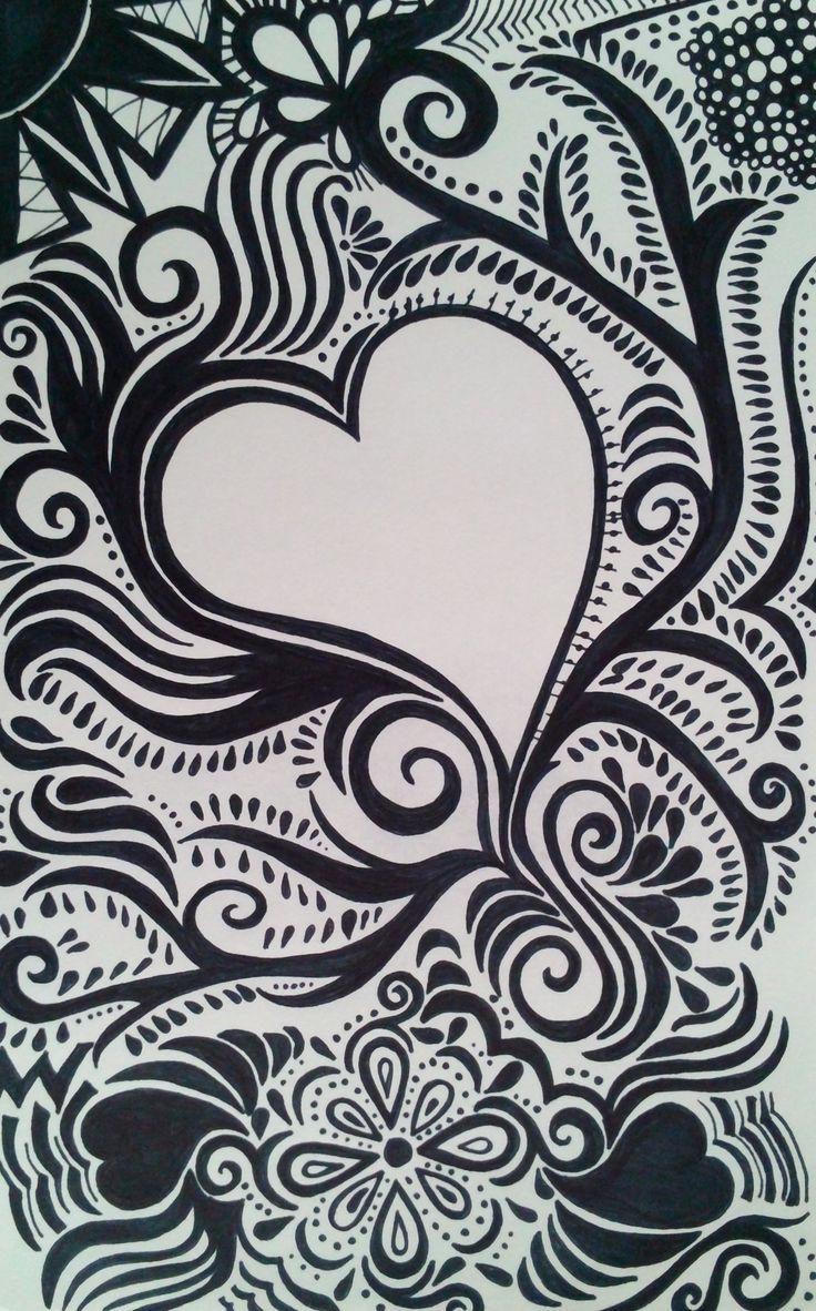 21 best Sharpie Art images on Pinterest | Sharpie art, Doodle art ...