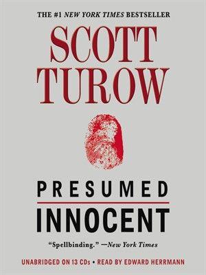 25+ ide terbaik Presumed innocent di Pinterest Tuhan, Nora - presumed innocent book
