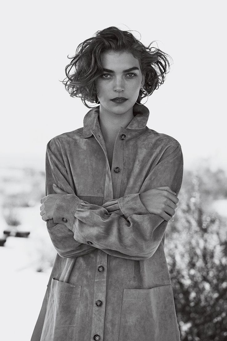 Arizona Muse - Photographed by Peter Lindbergh, Vogue, February 2011