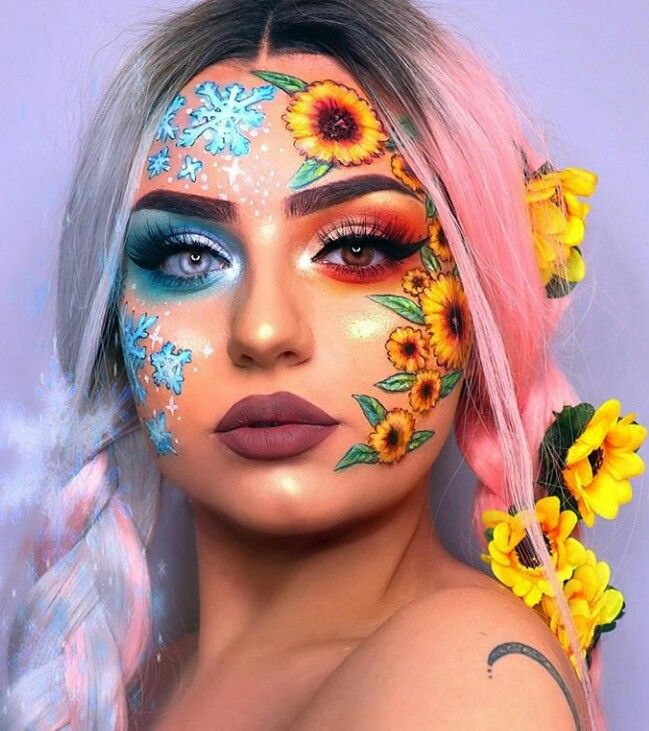 Love The Snowflake Look I Ll Have To Try It Out Sometime With