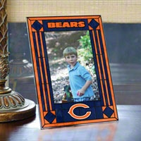 Chicago Bears Picture Frame: Vertical Glass Frame