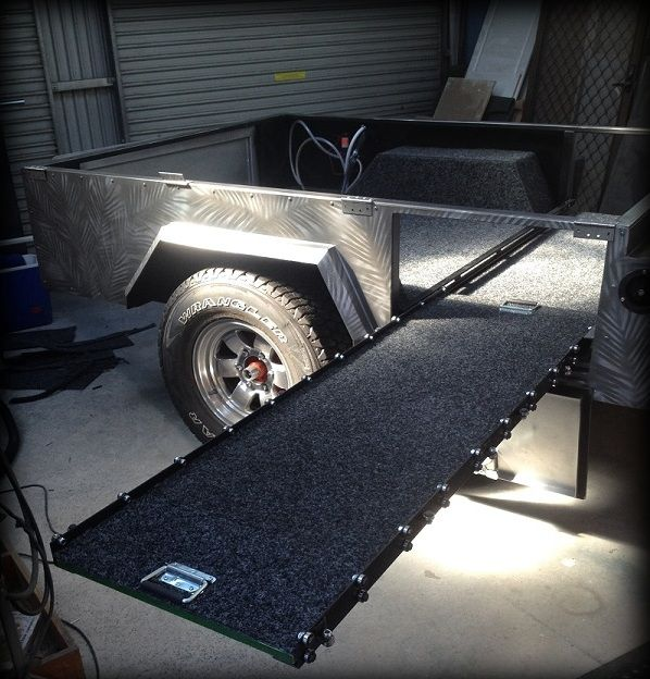 Dave's Off Road Camper Trailer - built using plans from TRAILER PLANS www.trailerplans.com.au