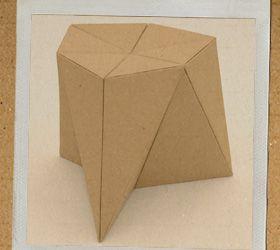 work-and-process: DIY Design meubels van karton #foldschool