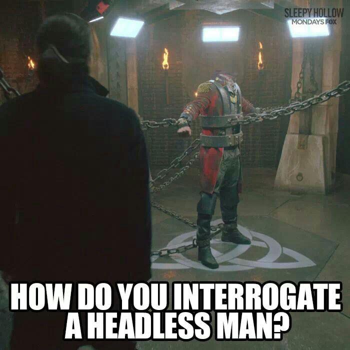 No Quarter Tvshow Time: Sleepy Hollow / The Headless Horseman...